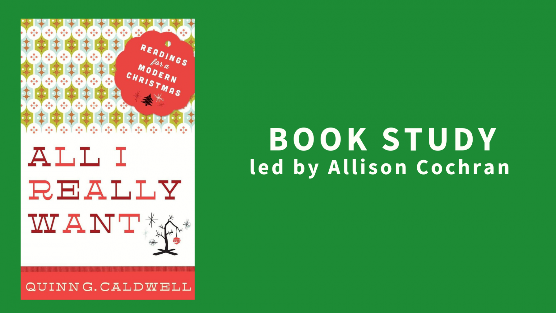 All I Really Want: Readings for a Modern Christmas by Quinn G. Caldwell