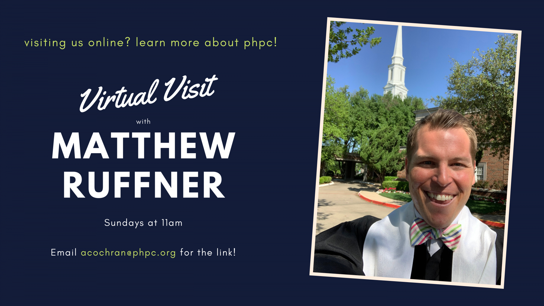 Virtual Visitor Sessions With Matthew Ruffner