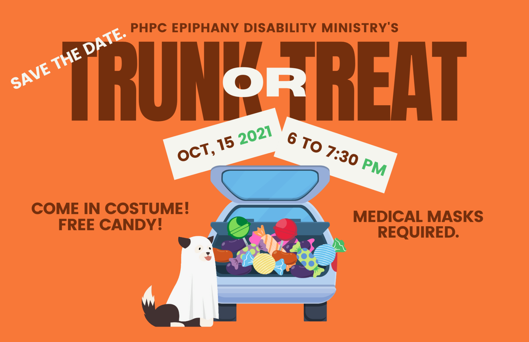Epiphany and PHPC Kids Trunk or Treat